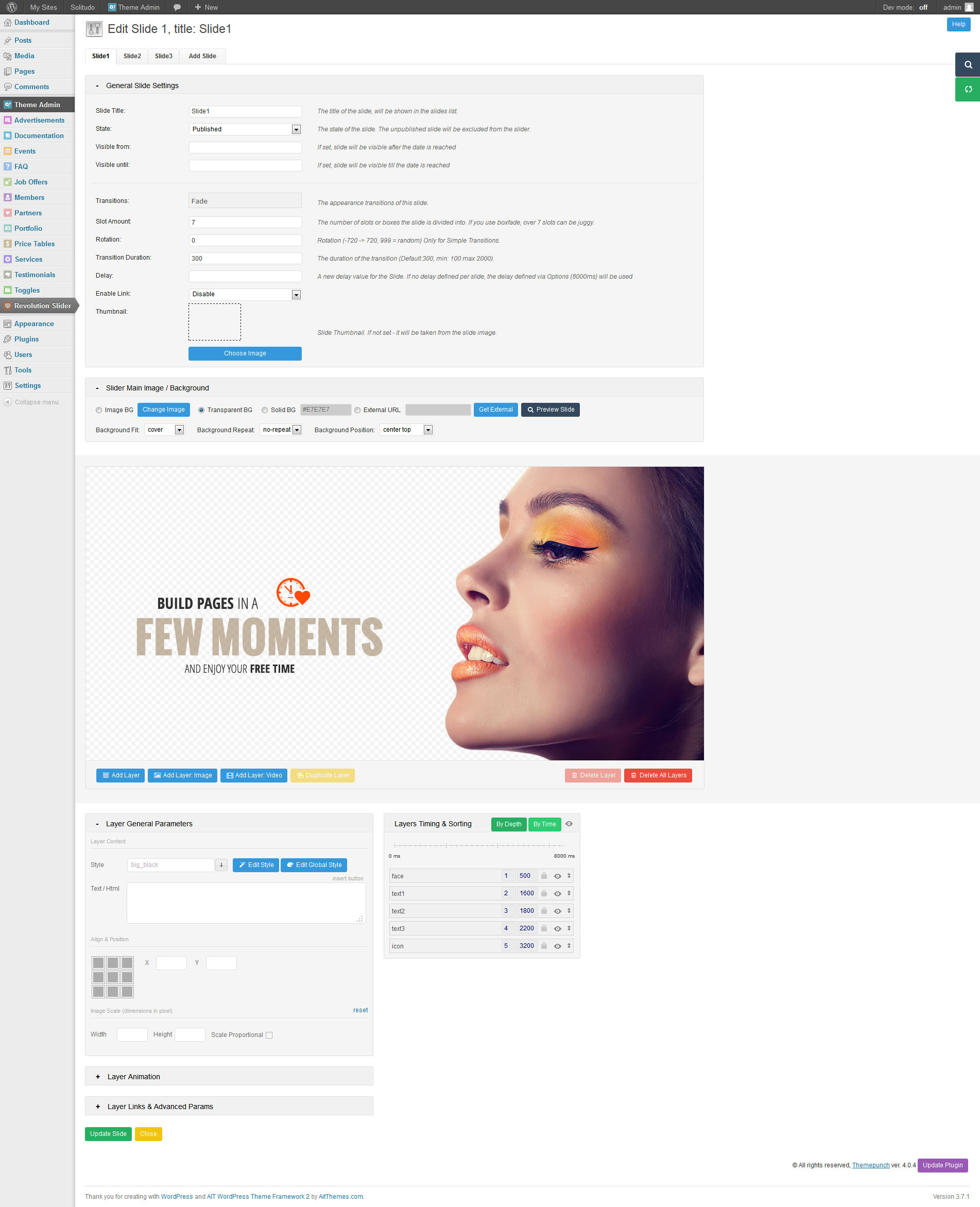 Solitudo: Page Builder & 30 Customizable Elements