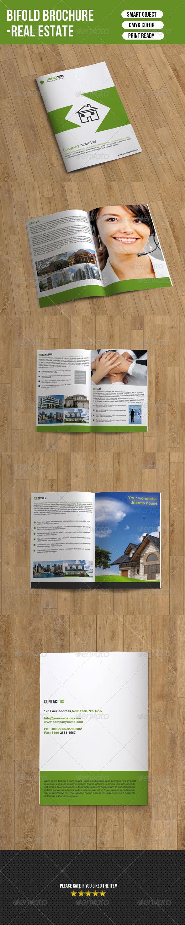Bifold Real Estate Brochure