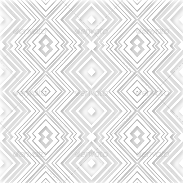 White Abstract Retro Zigzag Background