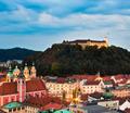 Ljubljana, capital of Slovenia