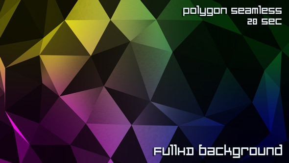 Polygon Web Background