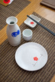Japanese style table set and sake - PhotoDune Item for Sale