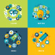 Set of Flat Design Concept Icons for Education - GraphicRiver Item for Sale