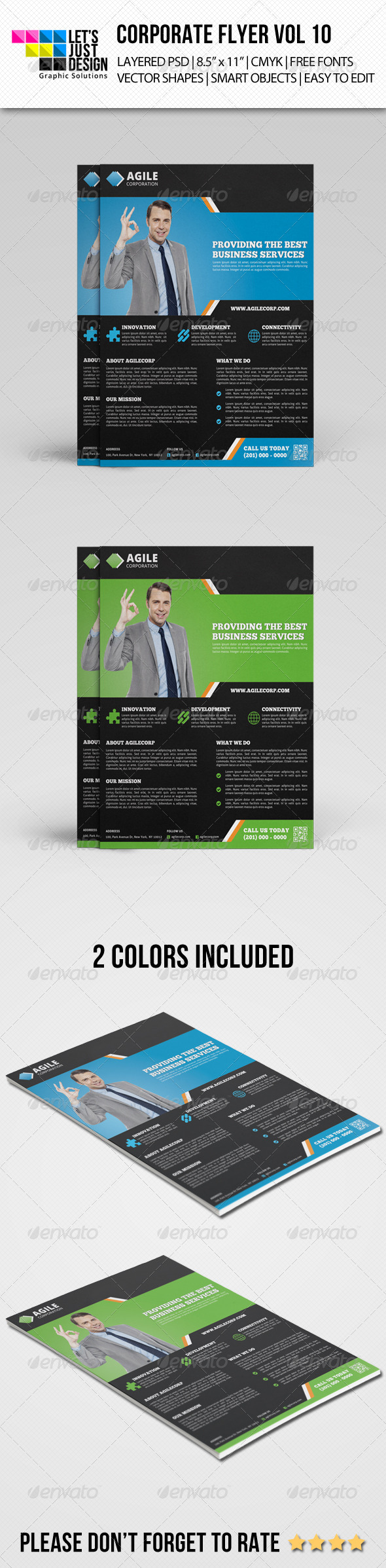 Corporate Flyer Template Vol 10