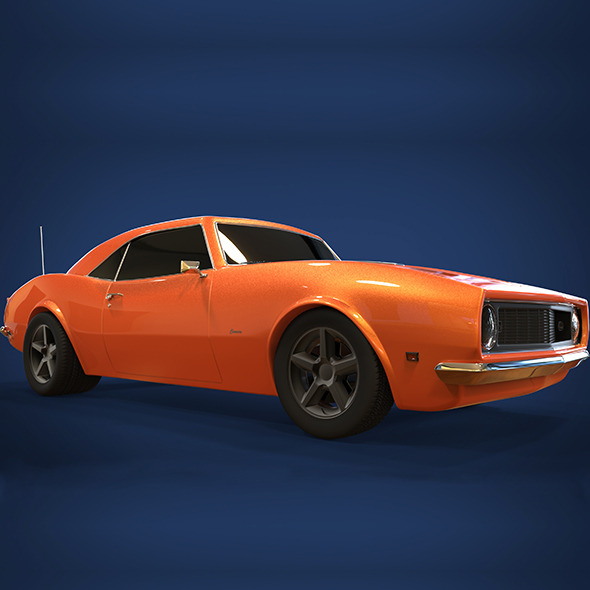 Camaro 1968 - 3DOcean Item for Sale