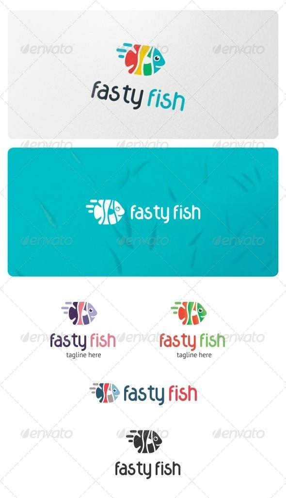 Fasty Fish Logo