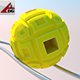 Roll Ball (yellow) - 3DOcean Item for Sale
