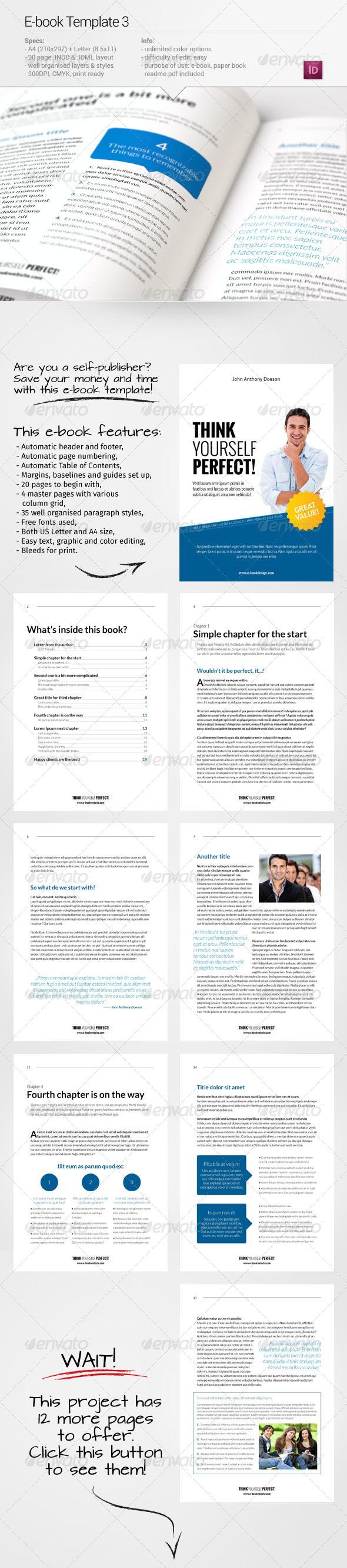 GraphicRiver E-book Template 3 7383894