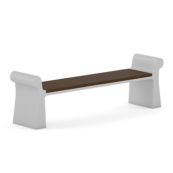 Wooden Bench 7 - 3DOcean Item for Sale