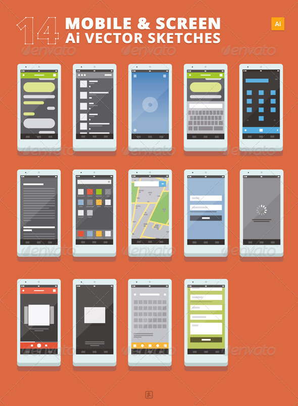 14 Mobile and Screen Sketches