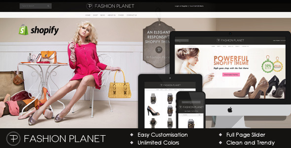 Fashion Planet Shopify Theme - Fashion Shopify