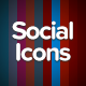 Animated Social Media Icons - 10 Pack