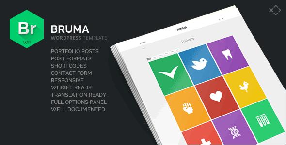 Bruma - Blog & Portfolio Template
