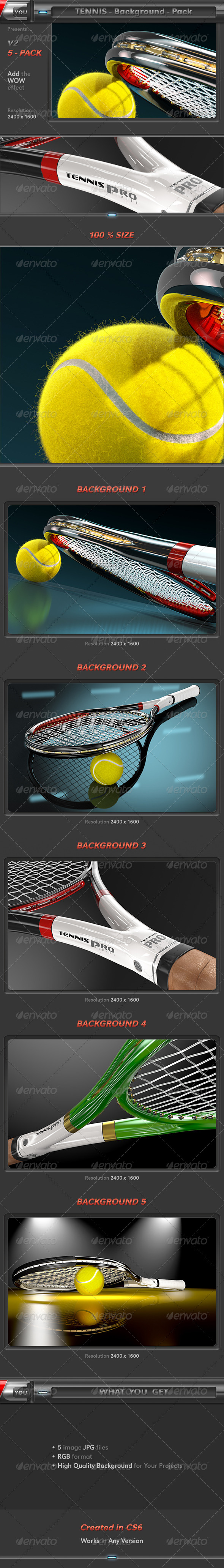 Tennis Background Pack 2