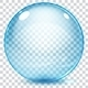 Set of Multicolored Transparent Glass Spheres - GraphicRiver Item for Sale
