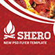 Shero Flayer Template - GraphicRiver Item for Sale