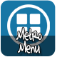 Metro Menu - CodeCanyon Item for Sale