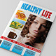 Healthy Life Magazine Template - GraphicRiver Item for Sale