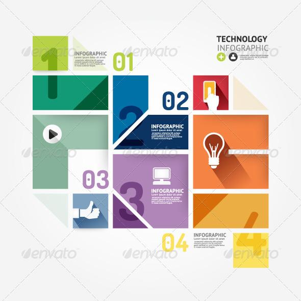 Modern  Infographics Design Template.