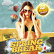 Spring Break / Summer Flyer poster - GraphicRiver Item for Sale