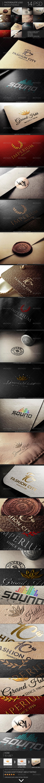 Photorealistic Logo Mock-Up Bundle - Logo Product Mock-Ups