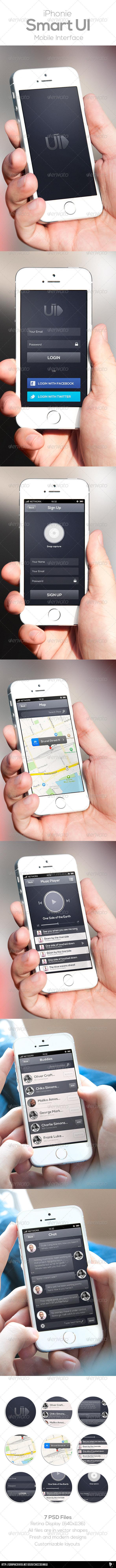 Smart Mobile UI - User Interfaces Web Elements