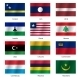Set Flags of World Sovereign States - Vector Illustration - GraphicRiver Item for Sale