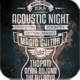 Acoustic Typography Flyer/Poster Vol.3 - GraphicRiver Item for Sale