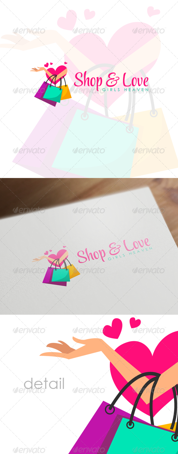 Fashion Shop - Retail, Boutique & Fashion Logo - Humans Logo Templates