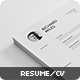 Ultra Clean Resume - GraphicRiver Item for Sale