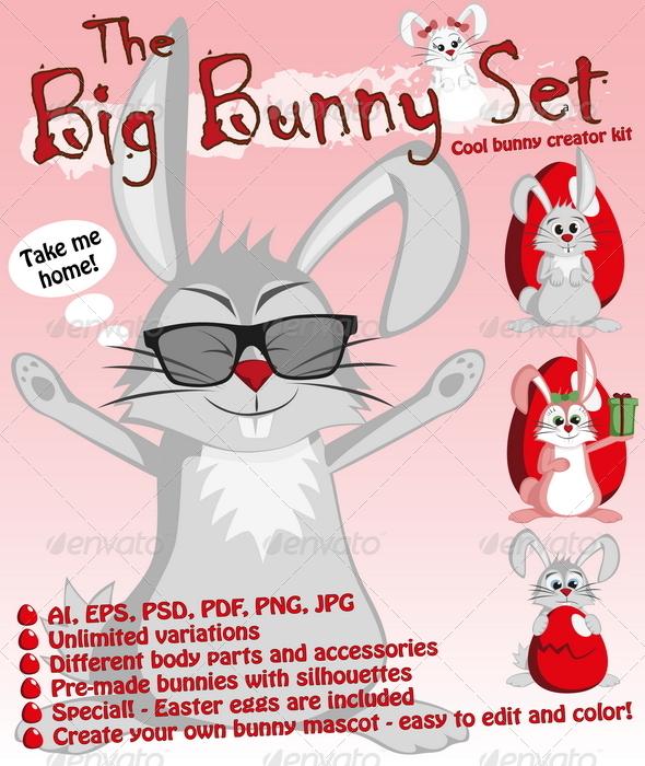 The Big Bunny Set