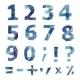 Polygonal Number Set - GraphicRiver Item for Sale