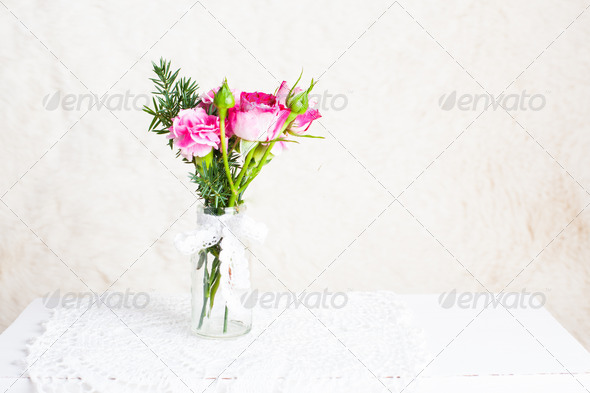 Vintage bouquet - Stock Photo - Images