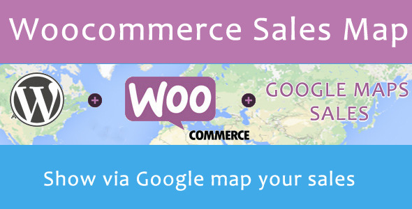 Woocommerce Sales Map