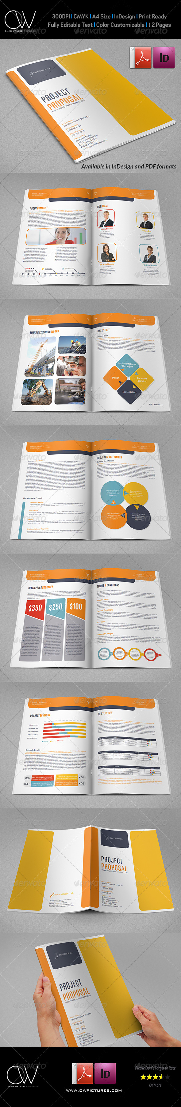 Company Proposal Template Vol.2