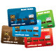 Illustration of Plastic Credit Cards - GraphicRiver Item for Sale