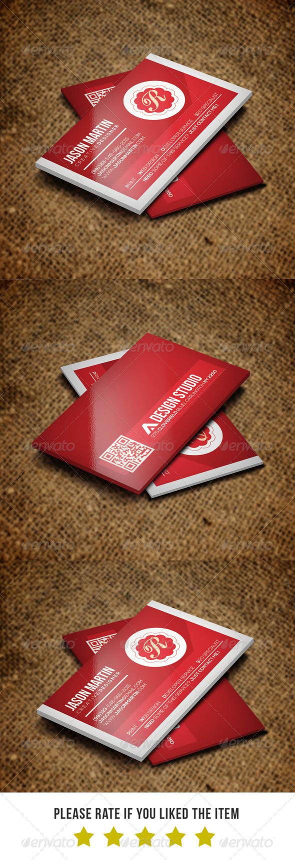 Corporate Business Card BNA 018