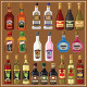Alcoholic Beverages Set - GraphicRiver Item for Sale