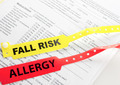 Fall Risk And Allergy - PhotoDune Item for Sale