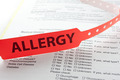 Allergy Paperwork - PhotoDune Item for Sale