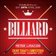 Billiard Flyer Template - GraphicRiver Item for Sale