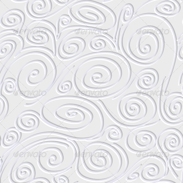 Seamless Background with Spirals