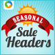 Season Sale sliders - GraphicRiver Item for Sale