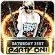 Party On - Flyer - GraphicRiver Item for Sale