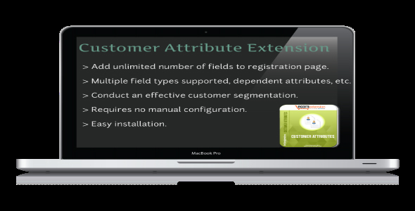 CodeCanyon Customer Attribute Extension 7408877