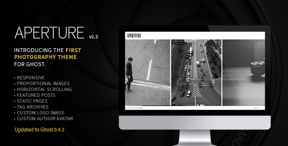 Aperture - The First Photography Theme for Ghost