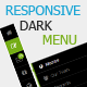 Puerto - Responsive Dark Navigation Menu