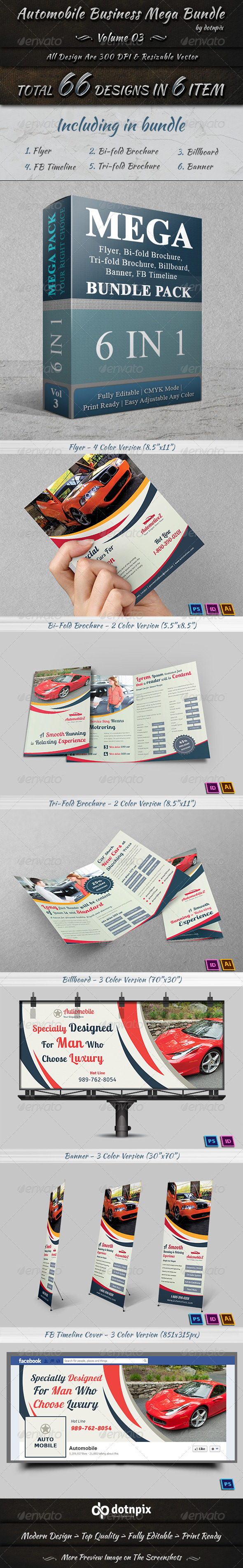 Automobile Business Mega Bundle Volume 3