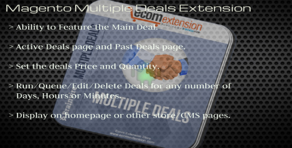 CodeCanyon Magento Multiple Deals Extension 7410089