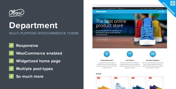 Department - Multi-Purpose eCommerce Theme